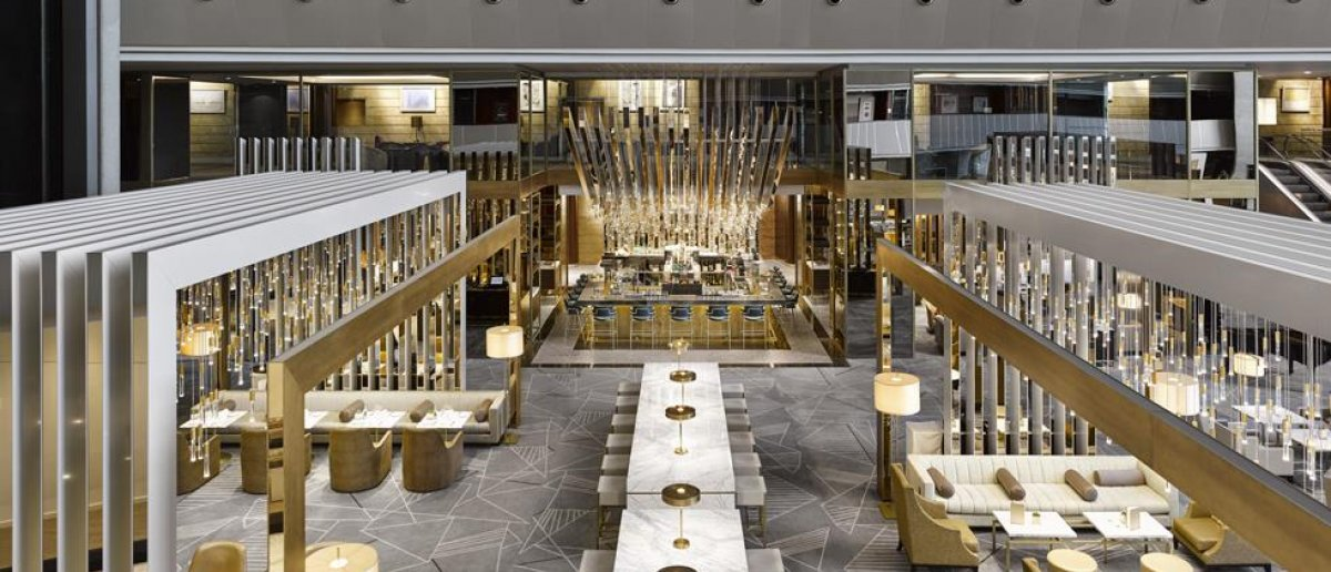 Restaurant of Fairmont Rey Juan Carlos I