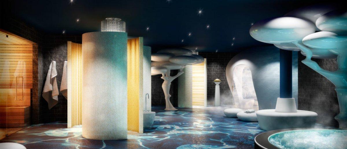 Spa facilities at Iberostar Grand Portals Nous