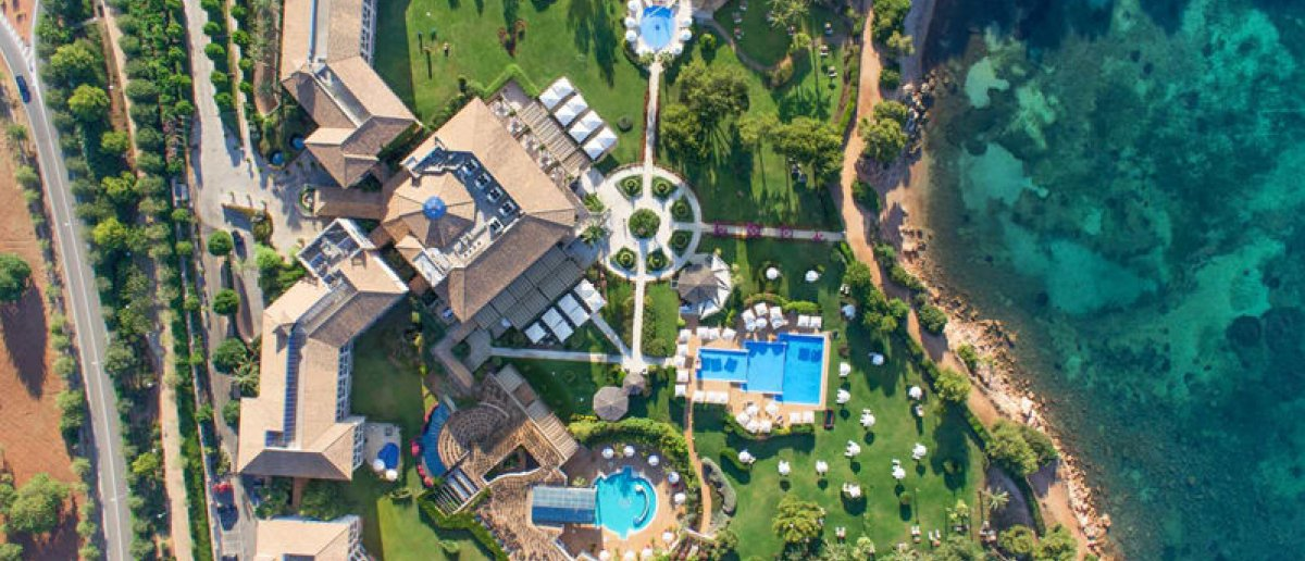 Aerial view of St. Regis Mardavall