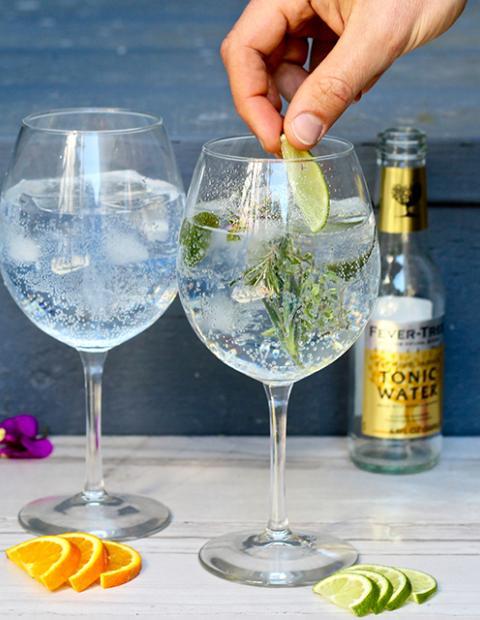 HM Alma Beach Gin Tonic