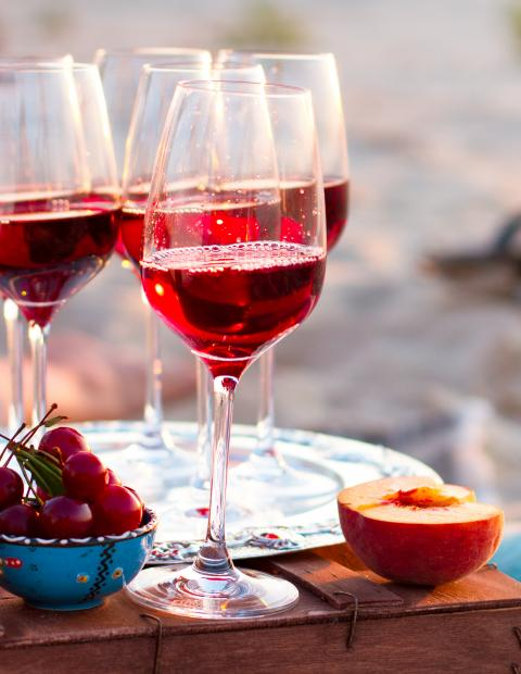 Balanguera Beach wine