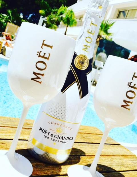 Moët Chandon Ice by the Pool Mallorca