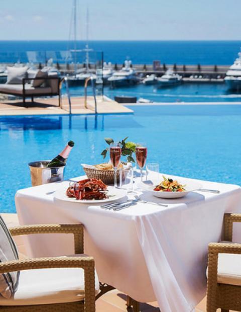 best lunch views mallorca