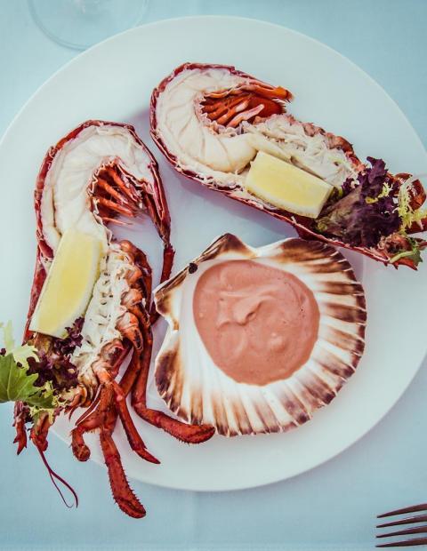 seafood dinner mallorca
