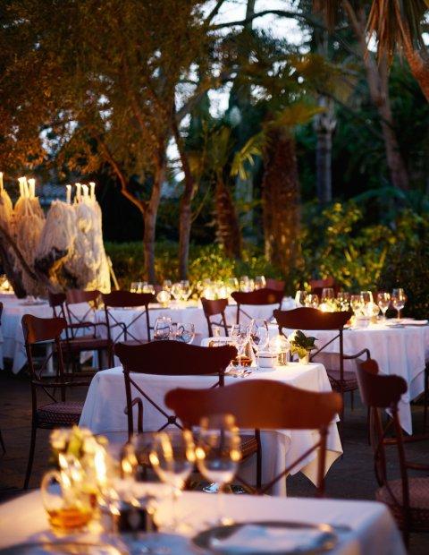 romantic dinner marbella