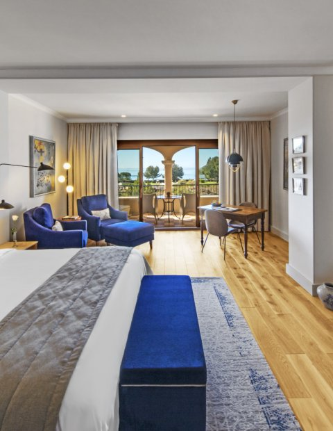 Junior Suite with Sea View at The St. Regis Mardavall Mallorca Resort